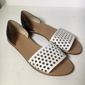 Loeffler Randall Sawyer Perforated Sandals